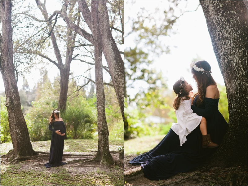 Tree Tops Park Maternity Photos by Bianca Valentim Photography