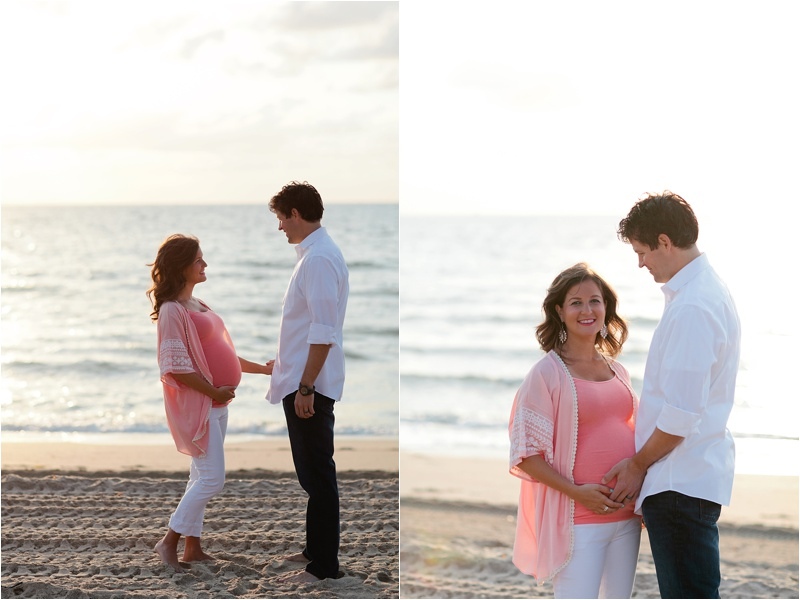 Fort Lauderdale Beach Maternity Photos