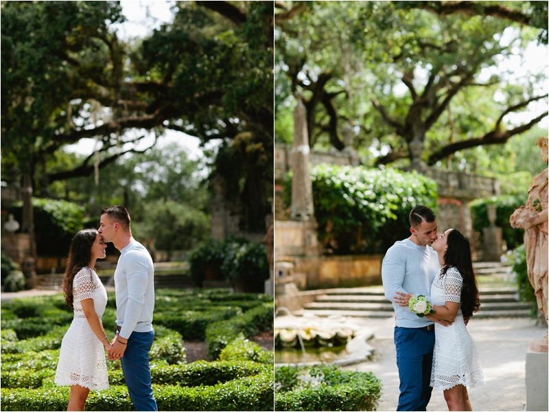 Vizcaya Museum & Gardens Engagement Session